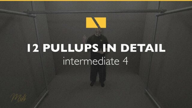How to Pullup #12 – Intermediate 4