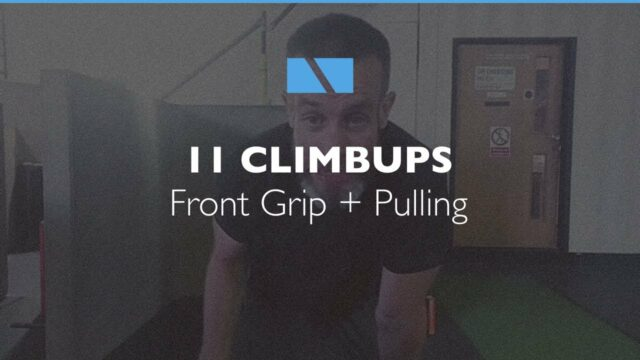 How to Climbup #11 – Front Grip + Pulling