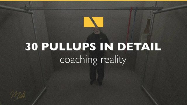 How to Pullup #30 – Coaching Reality